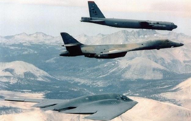 B-52, B-1 i B-2 /AFP