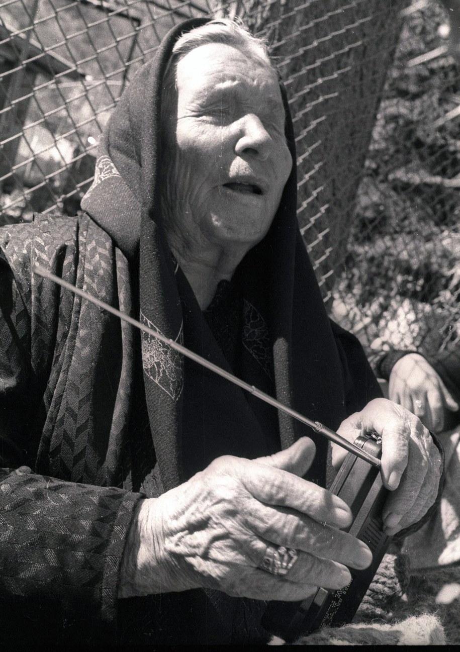 Baba Wanga (zdjęcie z 1994 roku) /VIKTOR GILOTAY /PAP/EPA