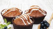 Babeczki z polewą czekoladową