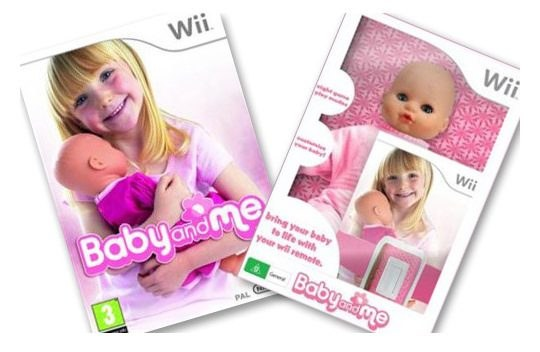 Baby and Me to idealna gra dla przyszłych matek /Informacja prasowa