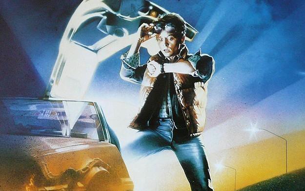 Back to the Future: It's About Time - motyw graficzny /Informacja prasowa