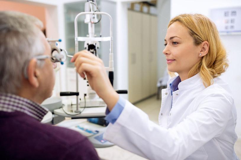 Badaj wzrok raz w roku. Wczesne leczenie może uratować twoje oczy /123/RF PICSEL