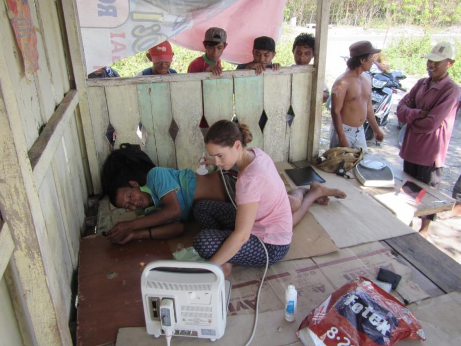 Badania ultrasonograficzne wśród społeczności Bajau /Melissa Ilardo /Materiały prasowe