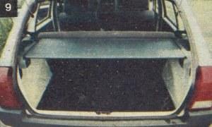 Bagażnik ma regularne kształty i stosunkowo dużą pojemność. /Motor