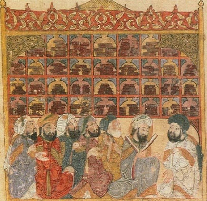 Bagdadzki Dom Mądrości budził podziw średniowiecznych podróżników. To tutaj przechowało się wiele dzieł starożytnych filozofów /Domena publiczna /INTERIA.PL/materiały prasowe