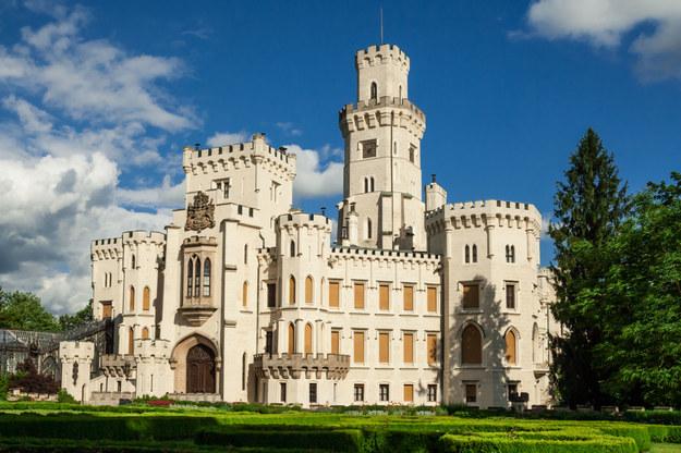 Bajkowy zamek Hluboka w Czechach /123/RF PICSEL