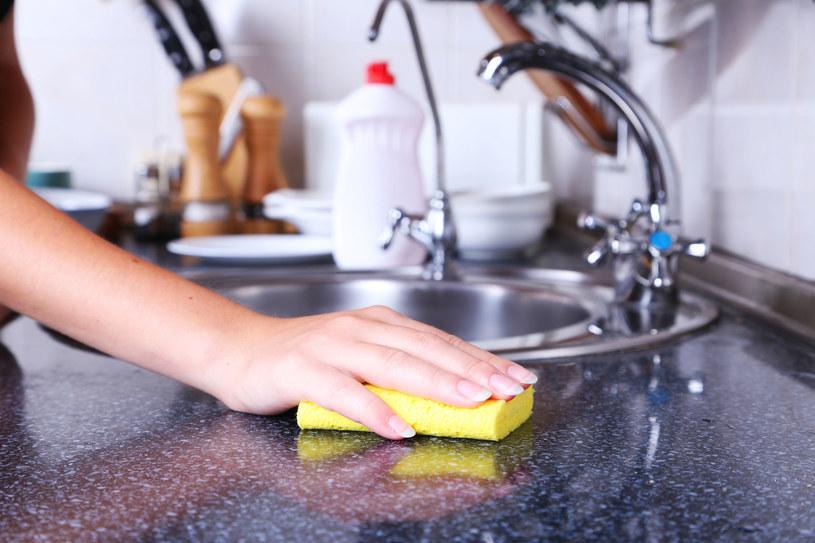 Bakterie uwielbiają kuchenne gąbki /123RF/PICSEL