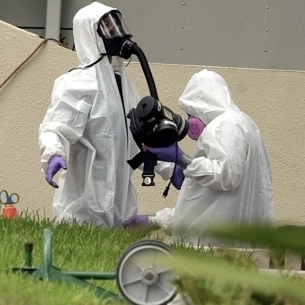 Bakterie wąglika mogą być wykorzystane jako broń biologiczna i są uważane za jedno z najpoważniejszych zagrożeń bioterrorystycznych (zdjęcie ilustracyjne) /RHONA WISE /PAP/EPA