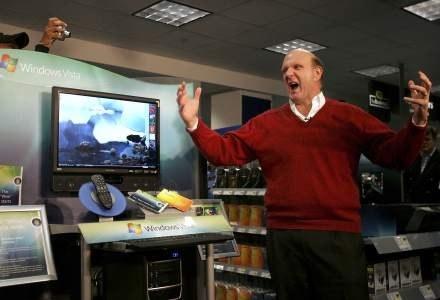 Ballmer wieszy koniec XP /AFP