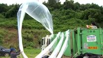 Balony z informacjami od lat lecą z południa na północ. Uciekinier z Korei Płn. chce pomagać rodakom