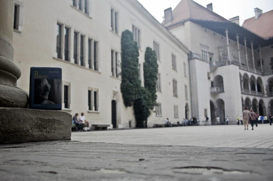 Baltazar na wawelskim dziedzińcu /Maciej Nycz /RMF FM