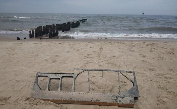 Bałtyk odsłonił fragment samolotu z czasów II wojny. To najpewniej maszyna niemiecka