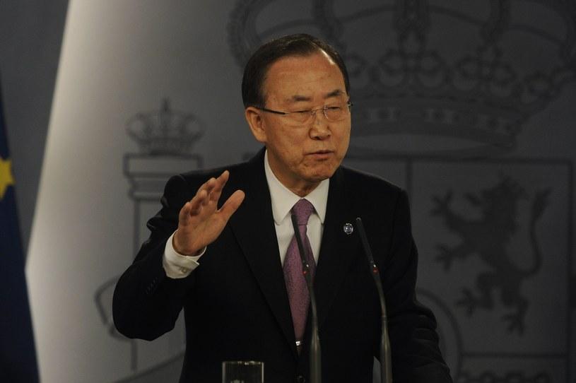 Ban Ki-Moon /AFP