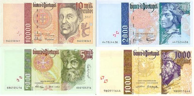 Banknoty escudo skupowane są przez banki do końca 2022 roku /WikiPasy /materiały prasowe