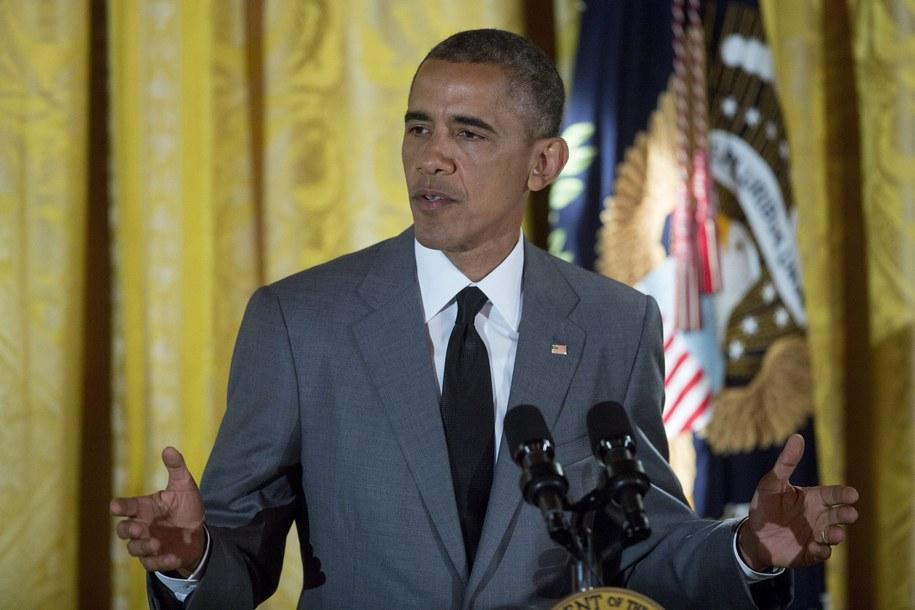 Barach Obama /Andrew Harrer /PAP/EPA