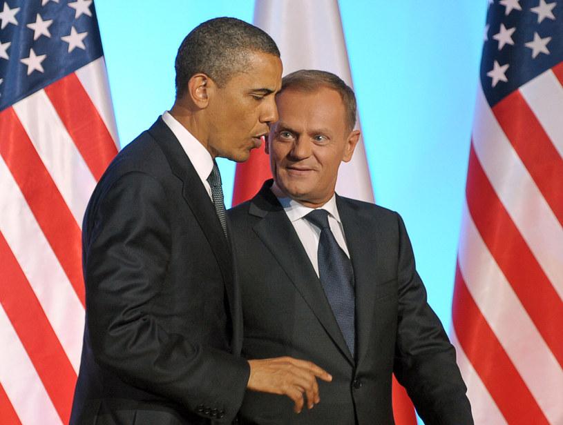 """Barack Obama dostał ten """"nietrafiony"""" prezent w 2011 roku /AFP"""