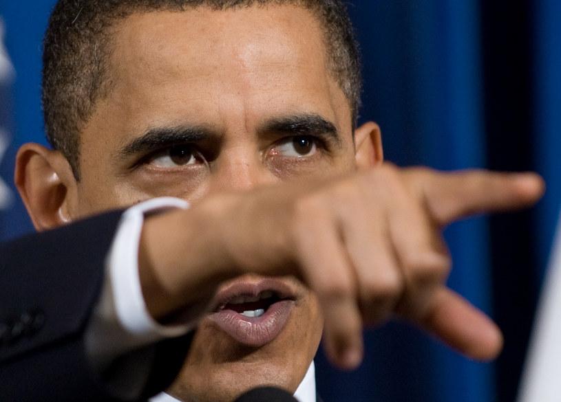 Barack Obama grozi Rosji dalszymi sankcjami /AFP