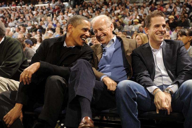Barack Obama, Joe Biden i Hunter Biden /AFP