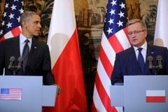 Barack Obama  już w Polsce