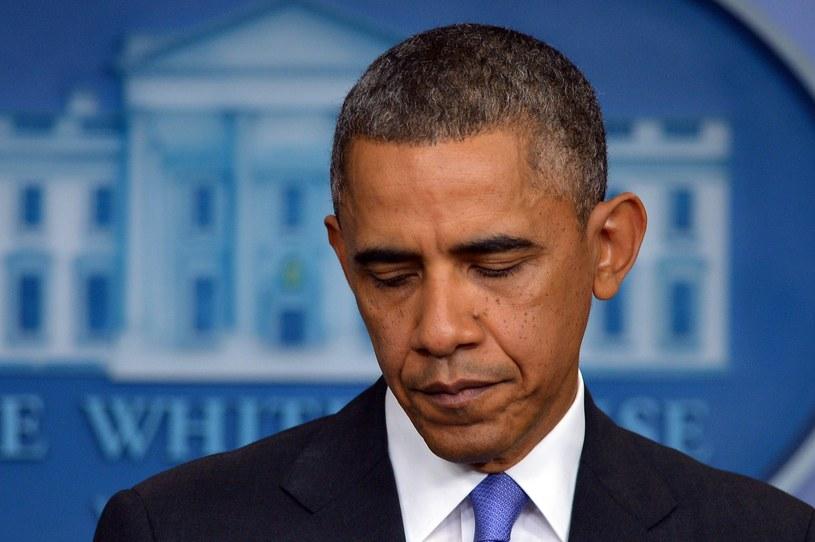 Barack Obama ma powody do niepokoju. /AFP