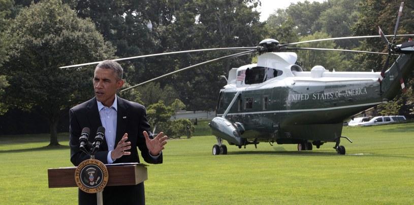 Barack Obama na konferencji prasowej w Waszyngtonie /DENNIS BRACK (PAP/EPA) /PAP/EPA