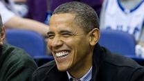 Barack Obama poprowadził doping w Białym Domu