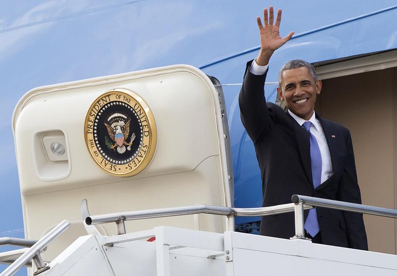 Barack Obama pożegnał się z Kenią /AFP