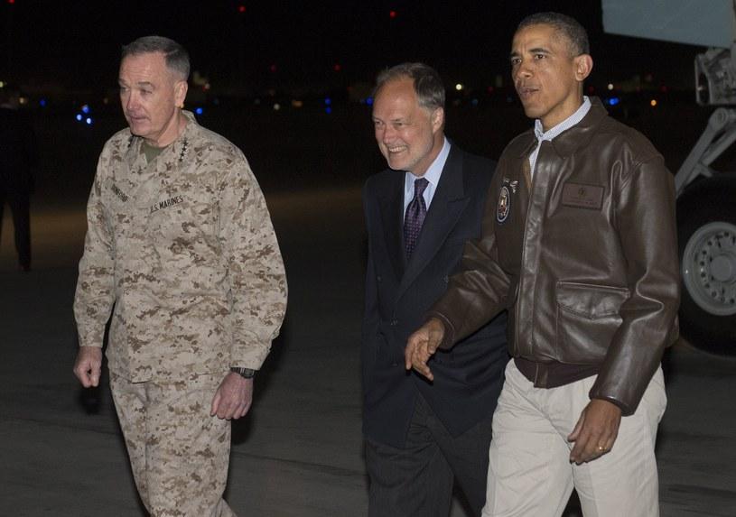 Barack Obama przyleciał do Afganistanu z niespodziewaną wizytą /AFP