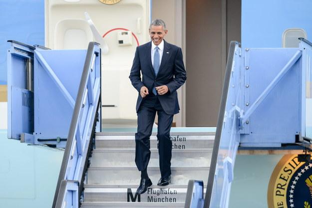 Barack Obama przyleciał do Monachium