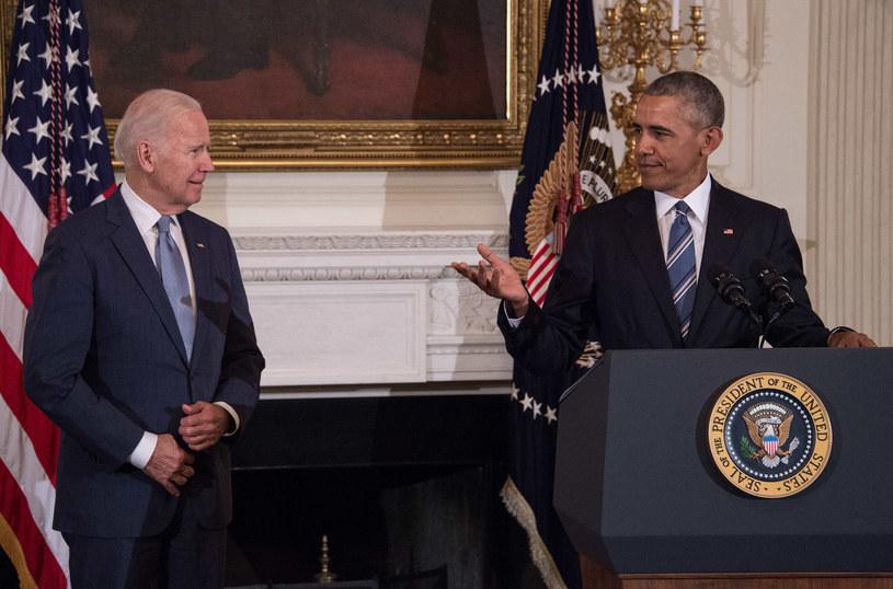 Barack Obama uhonorował Joe Bidena /AFP