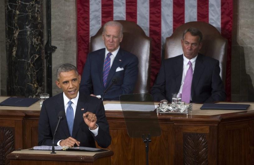 Barack Obama wygłasza orędzie /PAP/EPA
