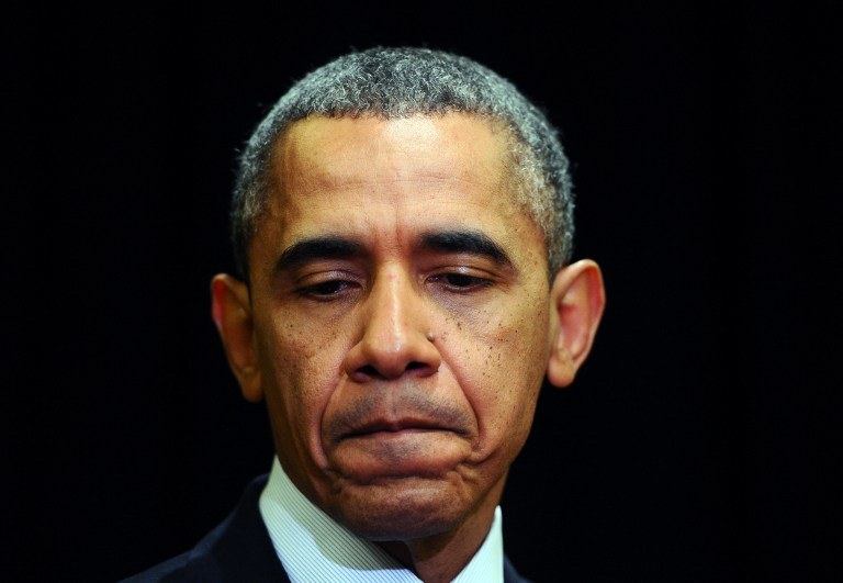 Barack Obama wyraził zaniepokojenie sytuacją w Iraku. /AFP