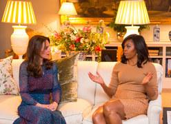 Barack Obama z wizytą u brytyjskiej rodziny królewskiej