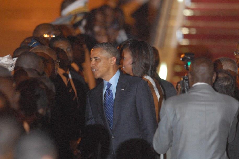 Barack Obama /Aliou Mbaye /PAP/EPA