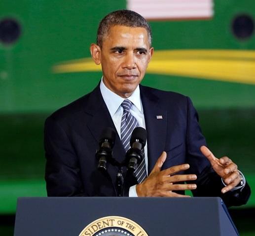 Barack Obama /JEFF KOWALSKY  /PAP/EPA