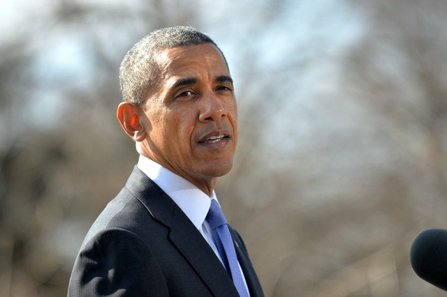 Barack Obama /KEVIN DIETSCH /PAP/EPA