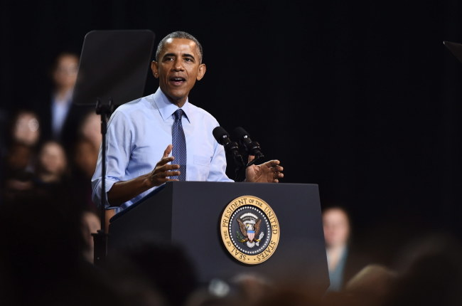 Barack Obama /LARRY W. SMITH /PAP/EPA