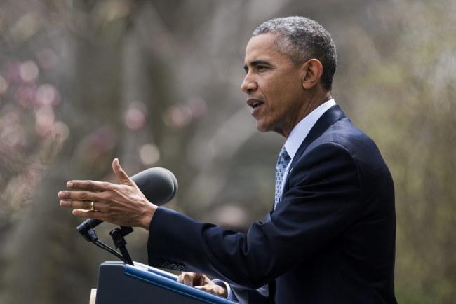 Barack Obama /PAP/EPA/JIM LO SCALZO /PAP/EPA