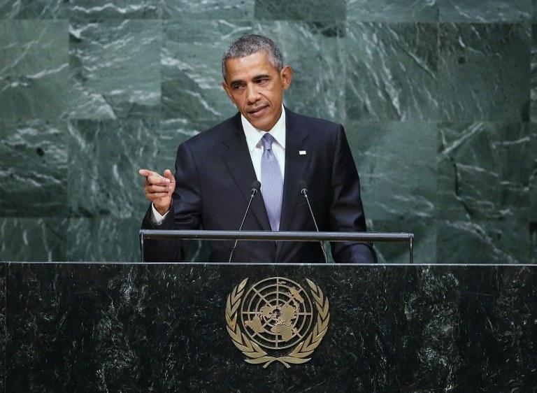 Barack Obama /JOHN MOORE / GETTY IMAGES NORTH AMERICA / AFP /AFP