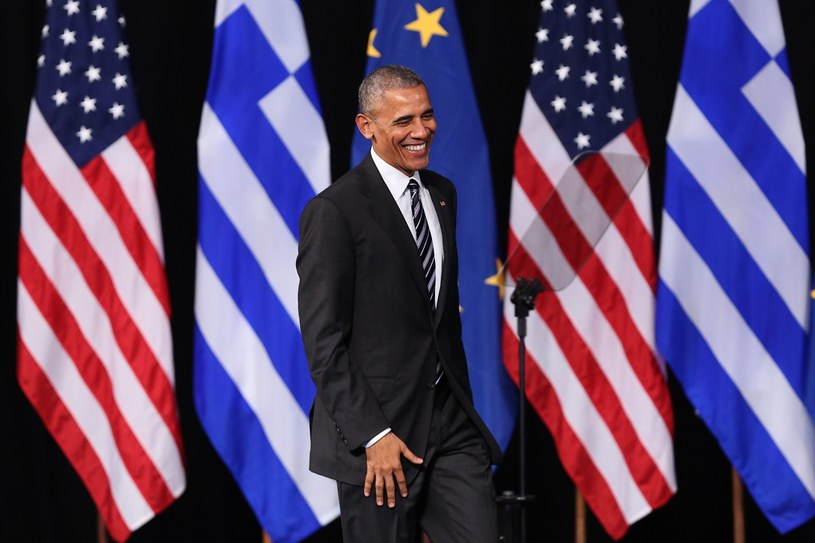 Barack Obama /ORESTIS PANAGIOTOU /PAP/EPA