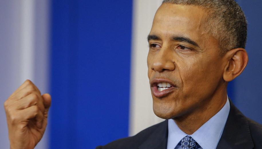 Barack Obama /ERIK S. LESSER /PAP/EPA