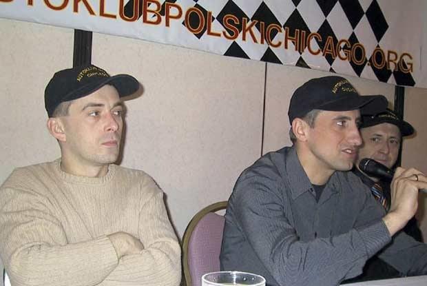 Baran i Kulig na konferencji prasowej / kliknij /INTERIA.PL