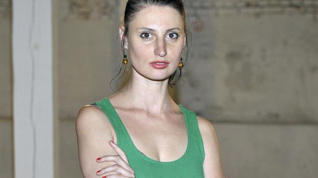 "Barbara Białowąs na planie filmu ""Big Love"" /AKPA"