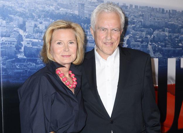 Barbara Bursztynowicz z mężem, Jackiem Bursztynowiczem /MWMedia