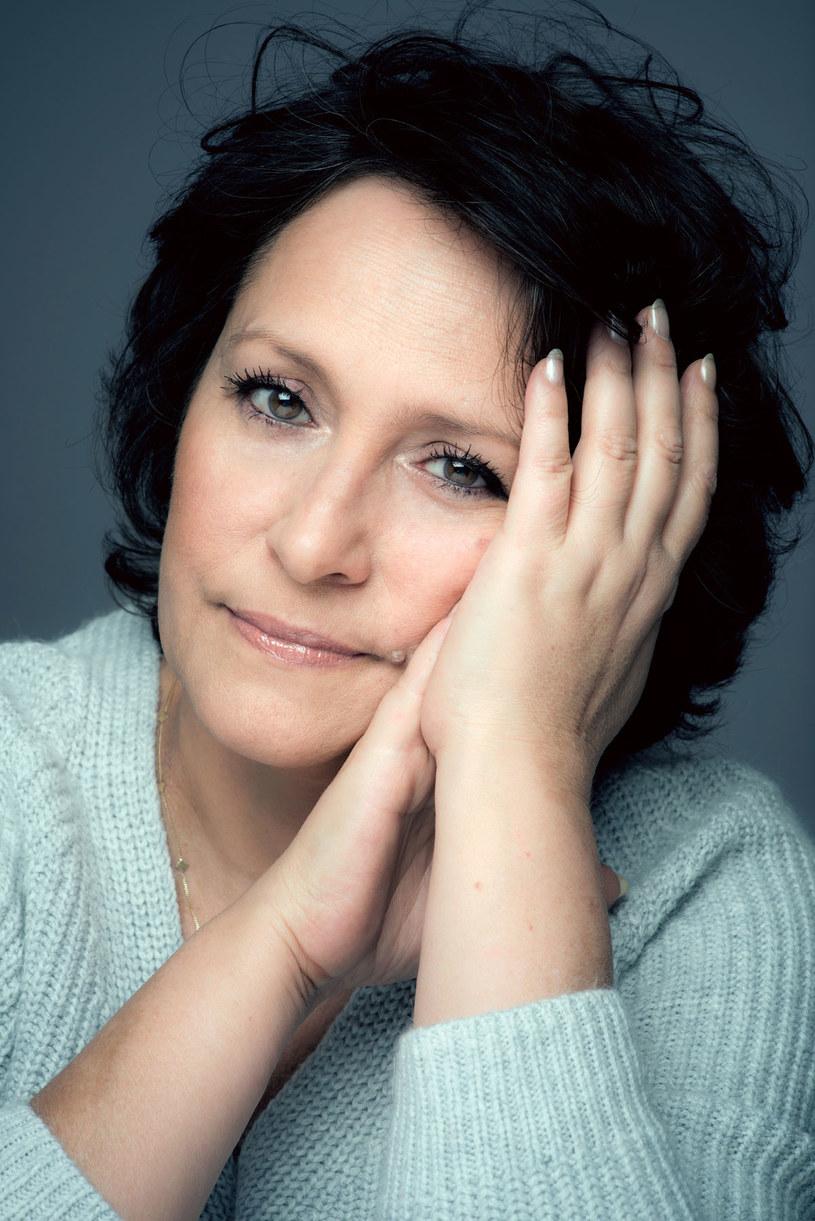 Barbara Falandysz najpierw zmusiła męża do leczenia, potem dopiero zdecydowała się na ciążę. /Jacek Poremba /Twój Styl