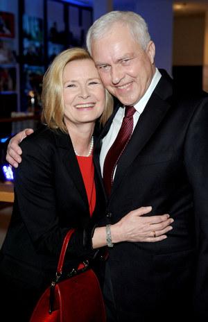 Barbara i Jacek Bursztynowiczowie od 35 lat tworzą udane aktorskie małżeństwo /  /Agencja W. Impact