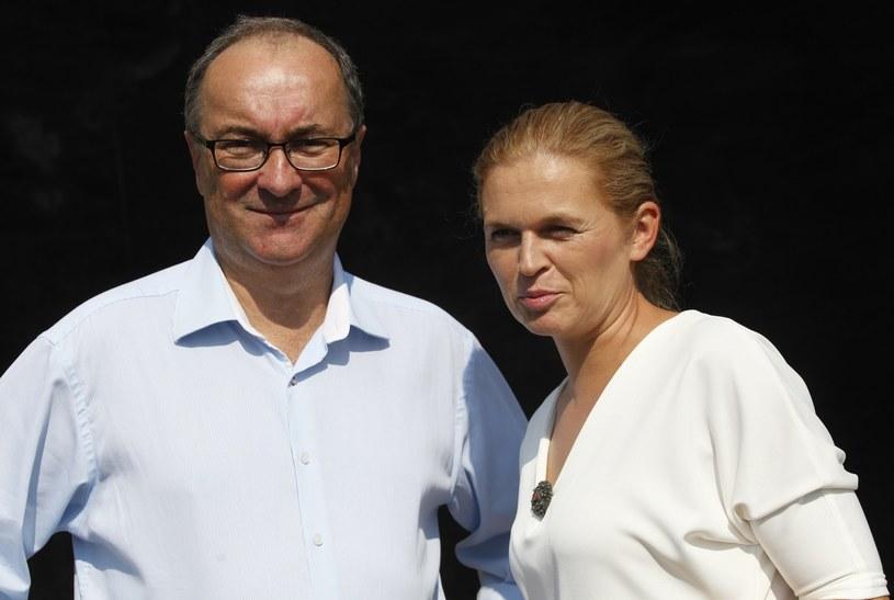 Barbara Nowacka i Włodzimierz Czarzasty /Reporter