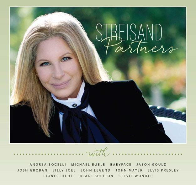 """Barbra Streisand na okładce albumu """"Partners"""" /"""