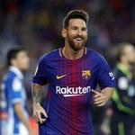 Barcelona - Espanyol 5-0. Hat-trick Lionela Messiego w derbach