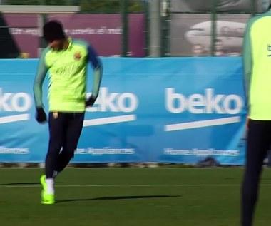 Barcelona przed rewanżem w Atletico. Wideo